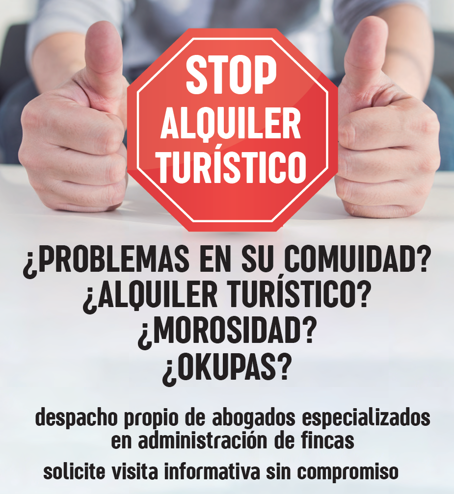 Stop Alquiler turístico.Sin morosidad. problemas en su comunidad. Alquiler turístico. Okupas. Salou